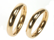 Gold Oval
